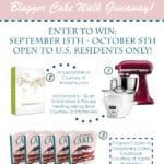Grandbaby Cakes Cookbook Blogger Cake Walk Giveaway