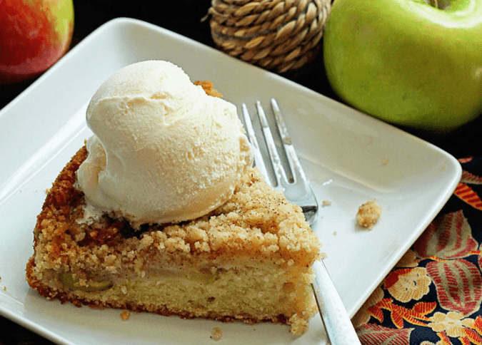 Maple Apple Cake - Grandbaby Cakes