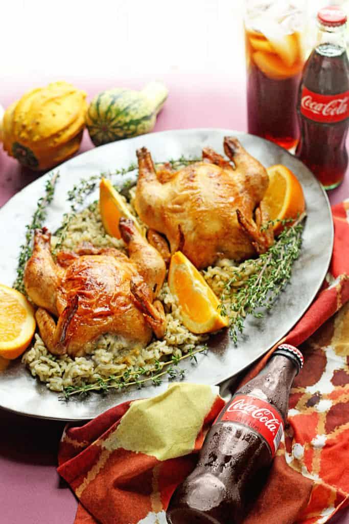 Coca-Cola Glazed Cornish Hen | Grandbaby Cakes