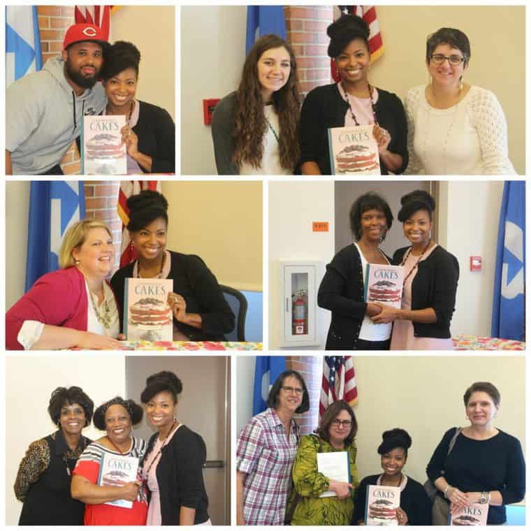 Grandbaby Cakes Tour Stop at Frankfort Library
