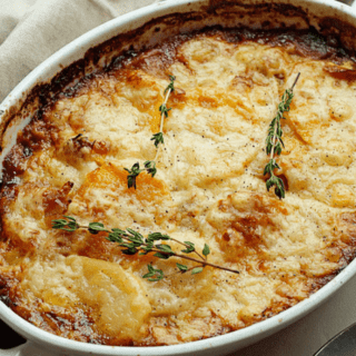 Potato and Squash Gratin | Grandbaby Cakes