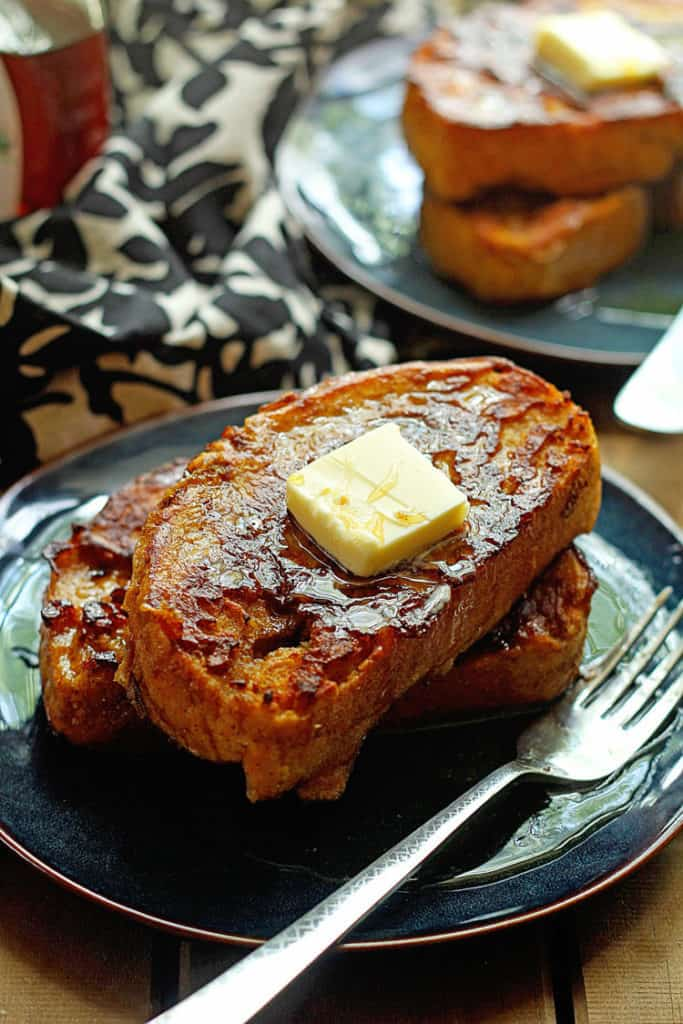 Pumpkin Spice French Toast - How to Make French Toast - Easy French Toast