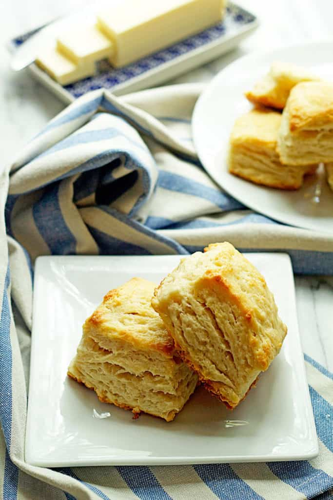 Butter Biscuits Recipe - Grandbaby Cakes