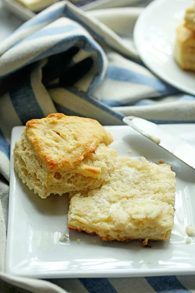 All Butter Biscuits | Grandbaby Cakes