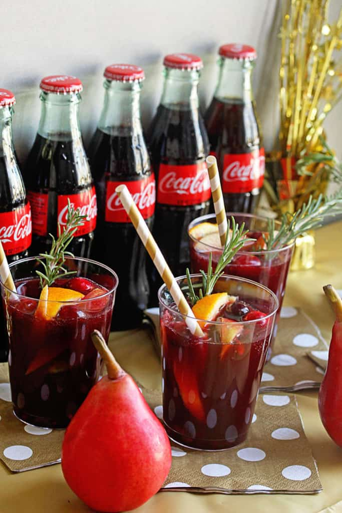 Coke Sangria Mocktail | Grandbaby Cakes