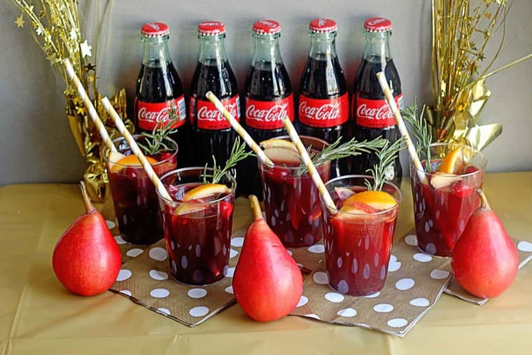 Coke Sangria Mocktail 5 - Coke Sangria Mocktail