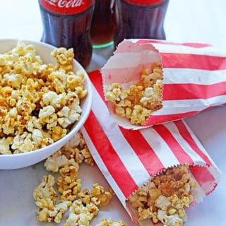 Coke Caramel Popcorn