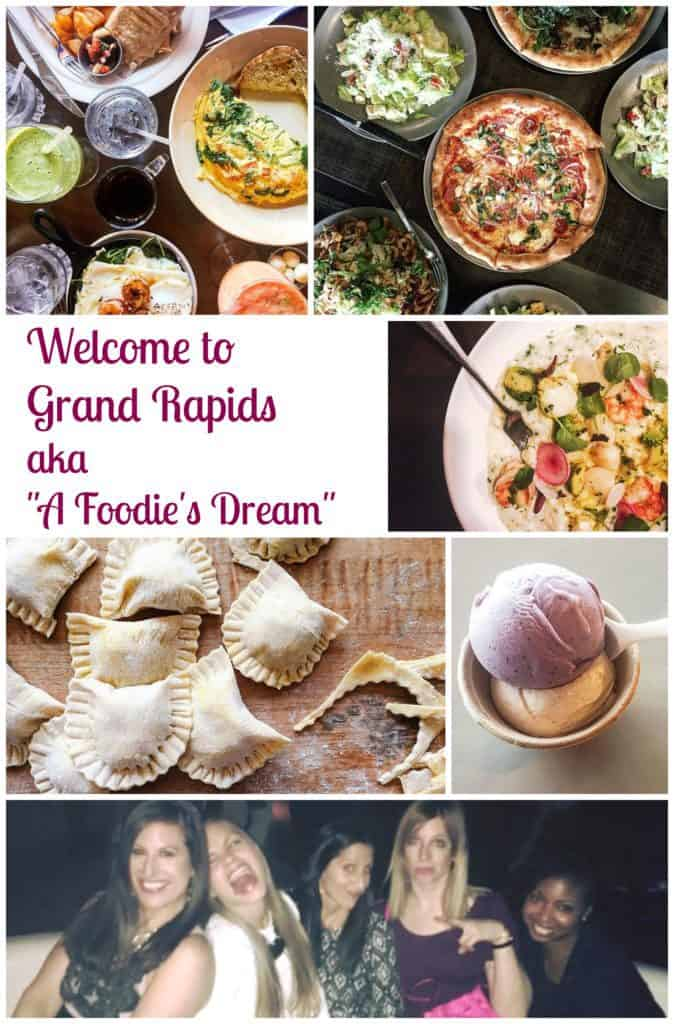 """PicMonkey Collage 674x1024 - Welcome to Grand Rapids aka """"A Foodie's Dream!"""""""