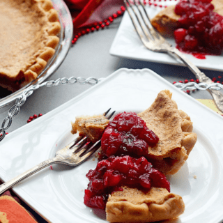 Maple Brown Butter Chess Pie