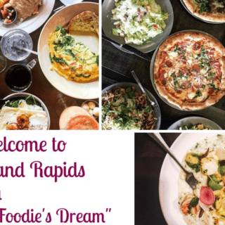 "Welcome to Grand Rapids aka ""A Foodie's Dream!"""
