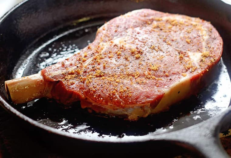 Learn an Easy and Delicious Way to Sear a Steak | Grandbaby Cakes