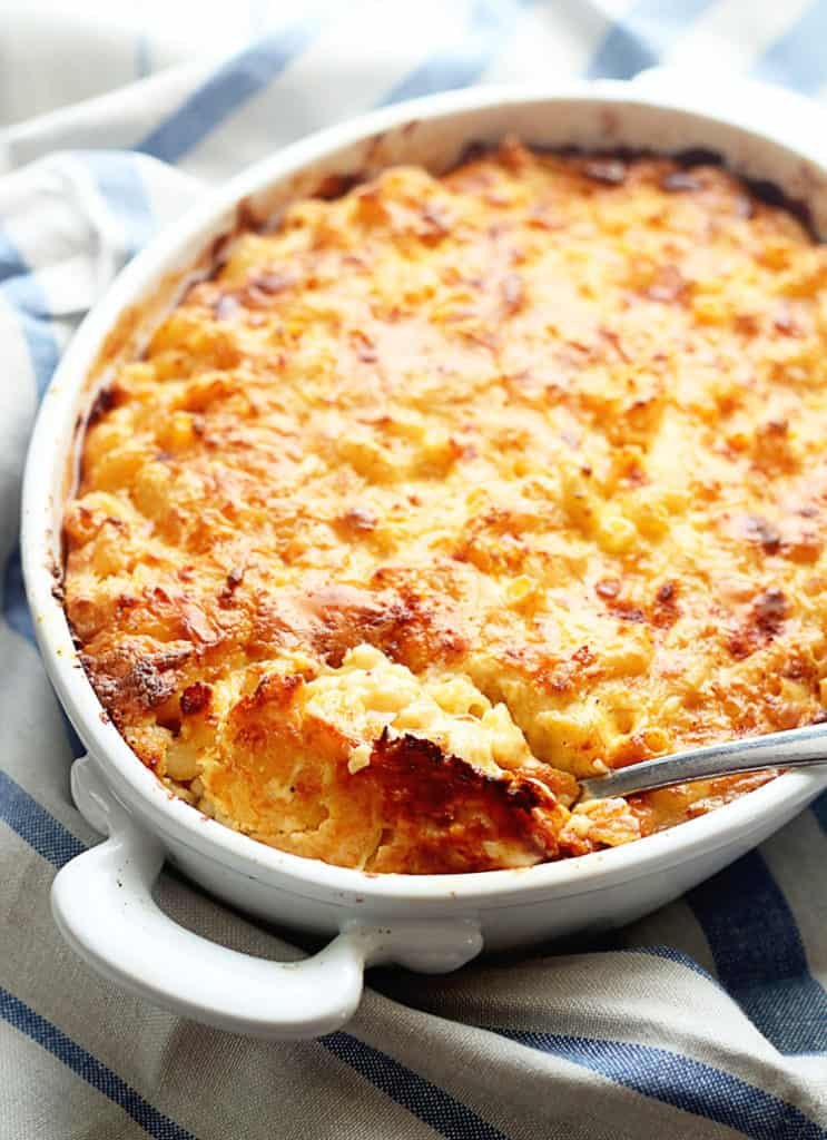 Southern Baked Macaroni and Cheese Recipe | Grandbaby Cakes