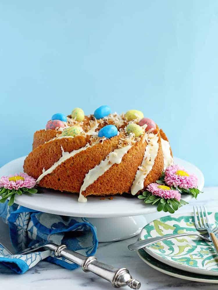 Easy Carrot Cake Pound Cake 1 - Easy Carrot Cake Recipe
