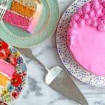 Ombre Cake Vanilla Cake Recipe