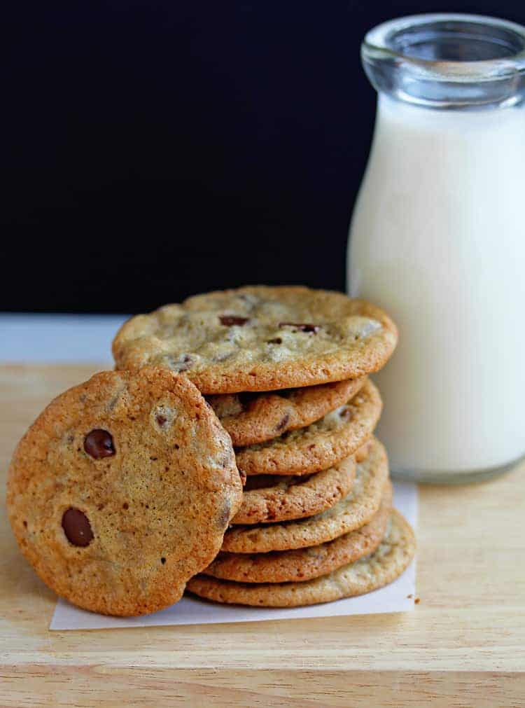 Perfect Crispy Chocolate Chip Cookies Recipe | Grandbaby Cakes