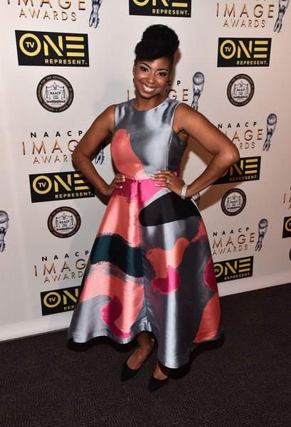 Jocelyn Delk Adams 47th NAACP Image Awards 2016 dinner red carpet7K77Wmd GjHl - NAACP Image Awards 2016