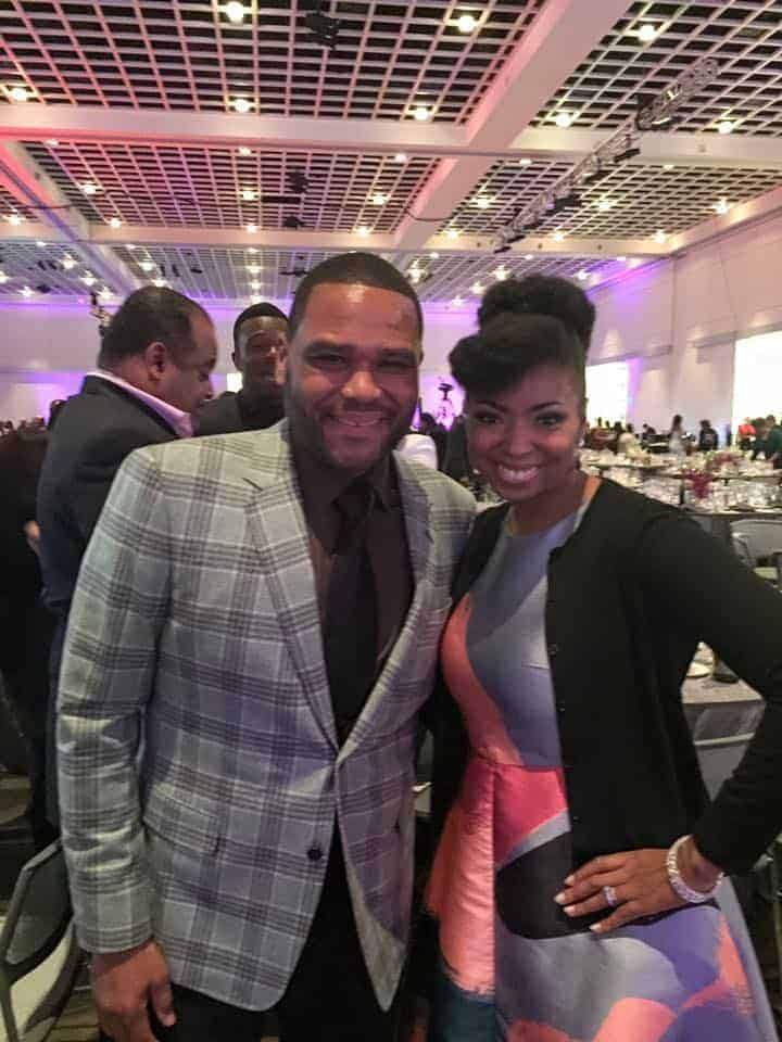 NAACP Image Awards 2016 Dinner Anthony Anderson - NAACP Image Awards 2016