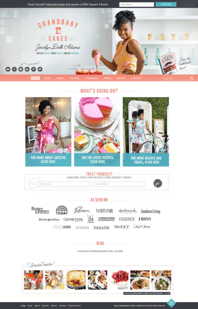 grandbaby cakes website
