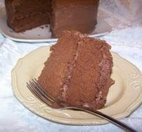 Velma's Buttermilk Chocolate Cake
