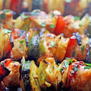 Grilled Apricot Chicken Kabobs 3 320x320 - Grilled Chicken Kabobs with Apricot Glaze