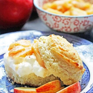 Brown Sugar Biscuit Apple Shortcakes