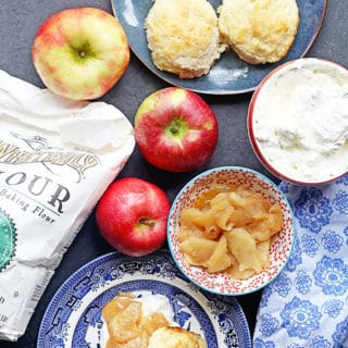 Brown Sugar Biscuits Apple Shortcakes 4 copy 320x320 - Brown Sugar Biscuit Apple Shortcakes