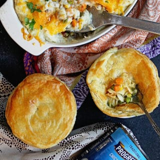 Progresso Pot Pie and Shepherds Pie | Grandbaby Cakes #ad