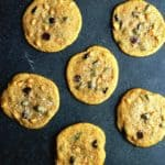 Pumpkin Chocolate Chip Cookies with delicious butterscotch chips and sea salt! Perfect for Fall Baking! | Grandbaby Cakes