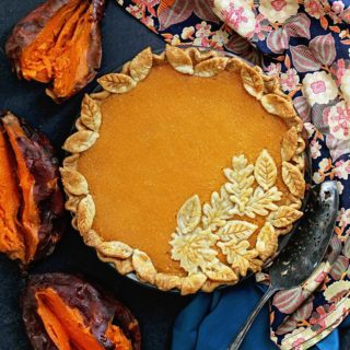 Sweet Potato Chess Pie Recipe