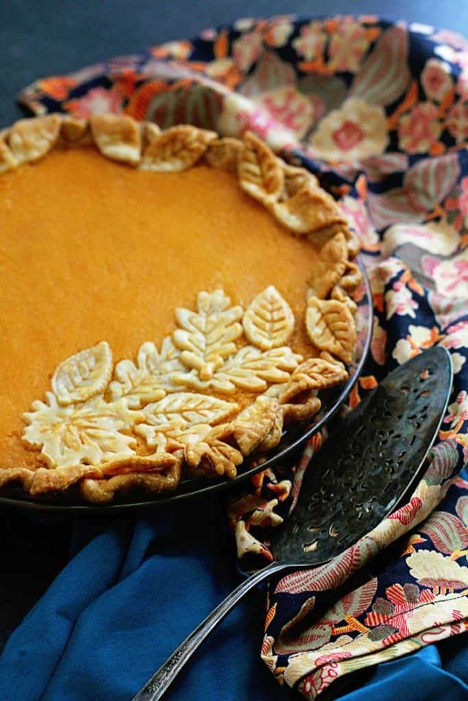 Sweet Potato Chess Pie | Grandbaby Cakes