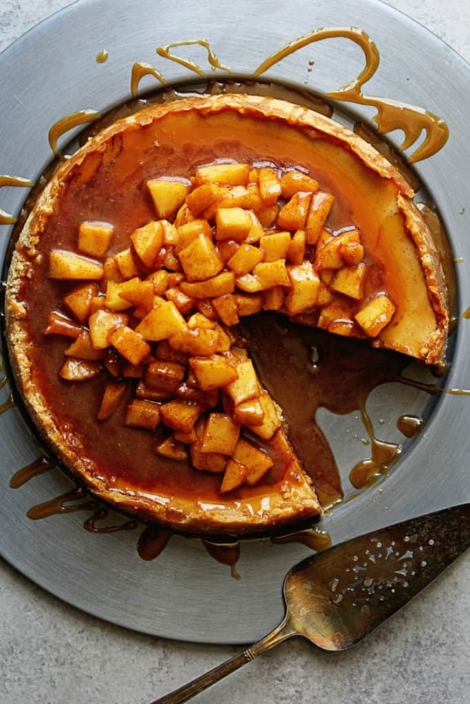 Caramel Apple Cheesecake - Cheesecake Recipes