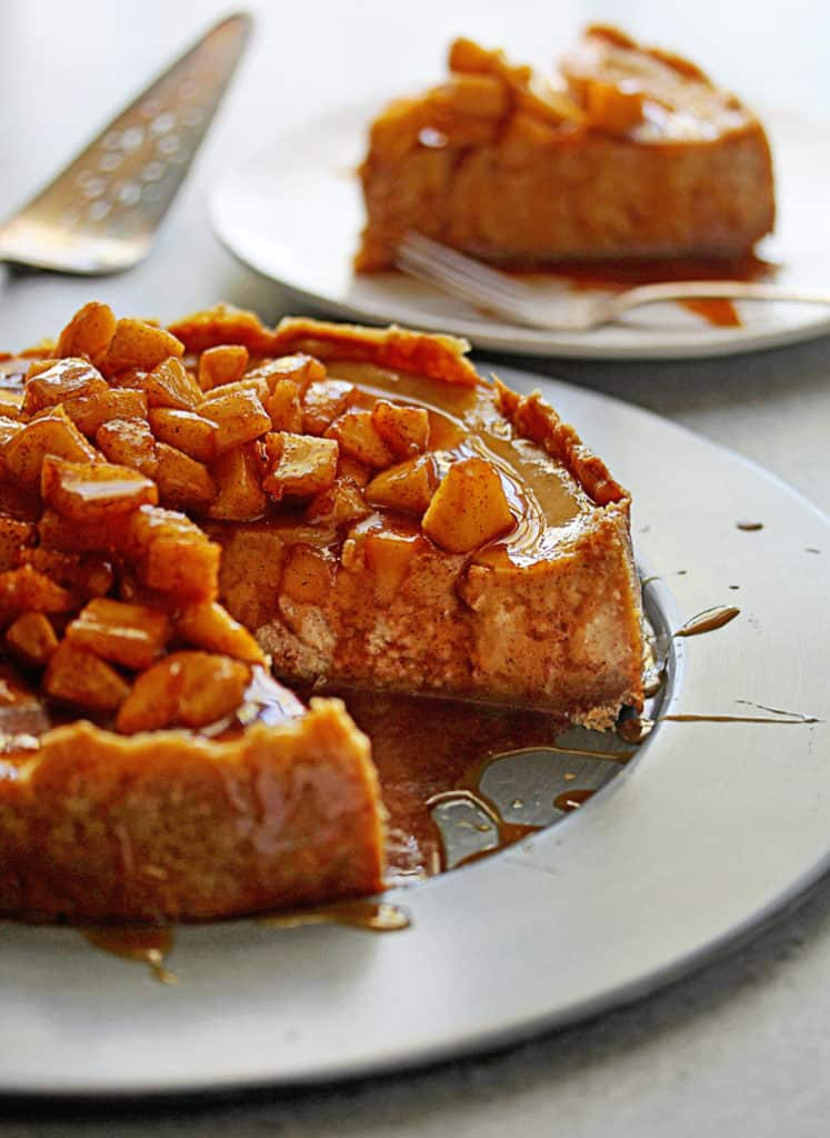 Fall Desserts - Apple Cheesecake