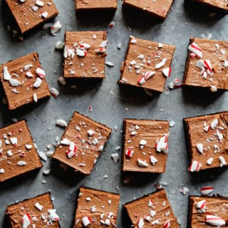 Peppermint One Bowl Brownies Recipe