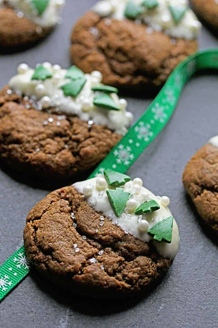 White Chocolate Ginger Cookies Recipe | Grandbaby Cakes