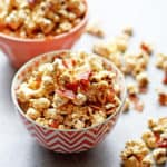 Brown Butter Maple Bacon Popcorn | Grandbaby Cakes
