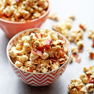 Brown Butter Maple Bacon Popcorn Recipe and NEWS!