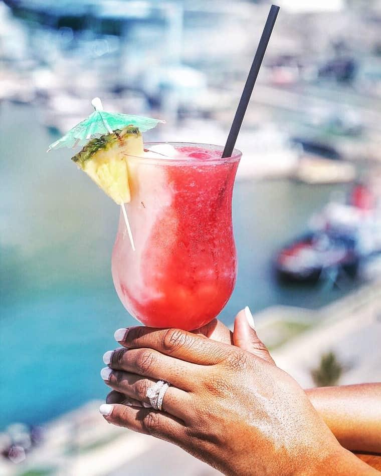 Carnival Pride Cruise to Bermuda Part 2 lava flow - My Carnival Pride Cruise to Bermuda Part 2