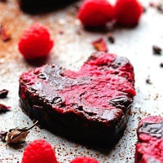 Heart Shaped Raspberry Brownies updated3 320x320 - Raspberry Brownies Recipe