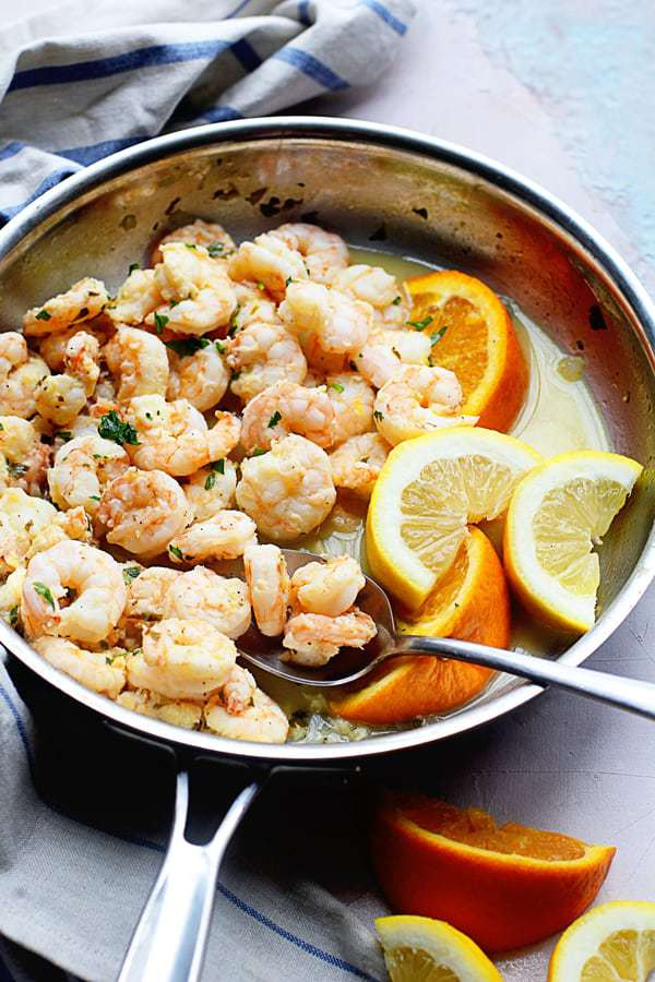 Citrus Shrimp Recipe | Grandbaby Cakes