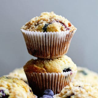 Perfect Blueberry Streusel Muffins Recipe