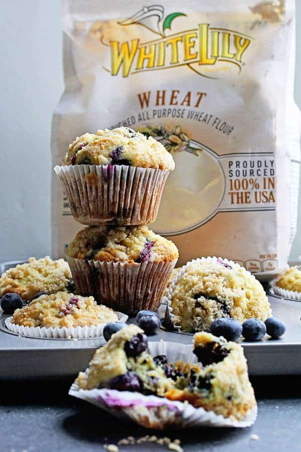 Perfect Blueberry Streusel Muffins Recipe | Grandbaby Cakes