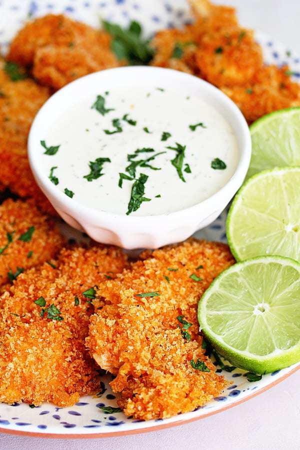 Sriracha Lime Chicken Tenders Recipe | Grandbaby Cakes