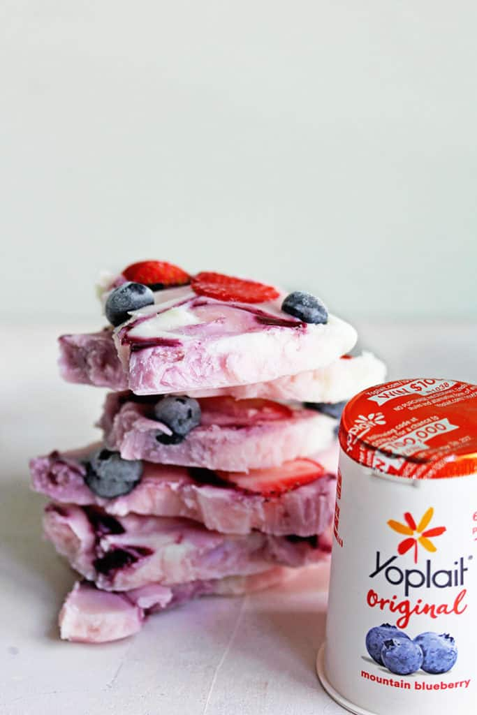 Frozen Yogurt Bark Recipe | Grandbaby Cakes