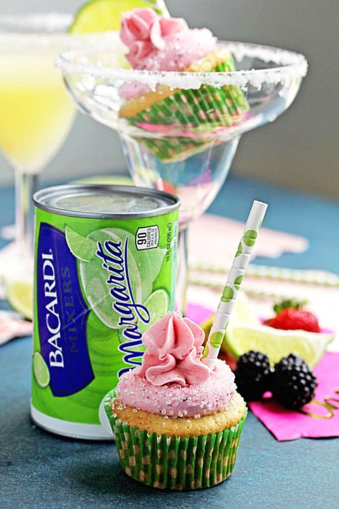 Berry Margarita Cupcakes Recipe | Grandbaby Cakes