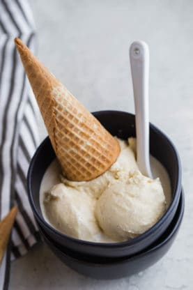Homemade Vanilla ice cream 6 277x416 - Homemade Vanilla Ice Cream Recipe
