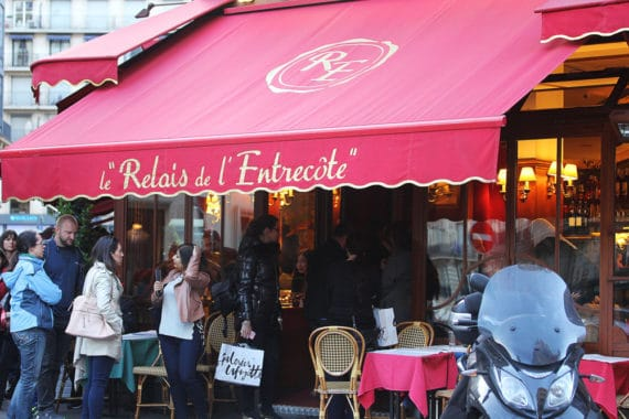 Le Relais de L'entrecote- Where to Eat In Paris - Grandbaby Cakes