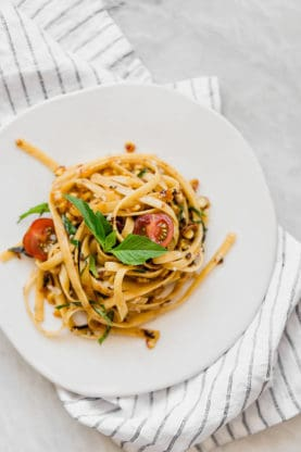 Summer Brown Butter Pasta for two 277x416 - Summer Brown Butter Pasta for Two