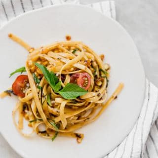 Summer Brown Butter Pasta for two 320x320 - Summer Brown Butter Pasta for Two