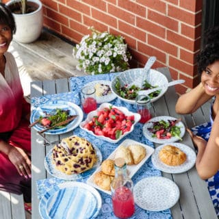 Weekly Brunch With Mom and Blueberry Orange Pound Cake | Grandbaby Cakes