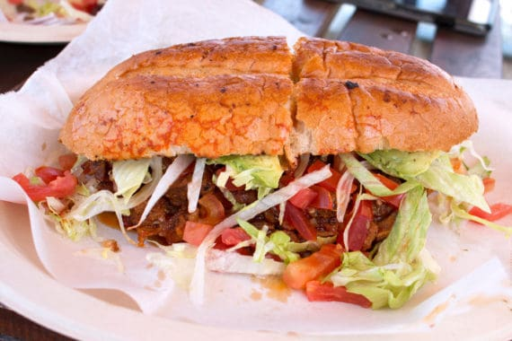 taco crawl veracruz torta 570x380 - Austin Taco Crawl - Best Tacos In Austin Texas
